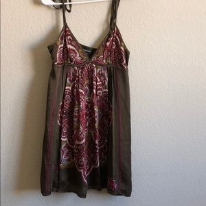 100% silk Bebe dress